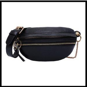 Vegan Leather Fanny Pack / Shoulder Bag